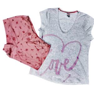 Pijama Algodón Short T&amp