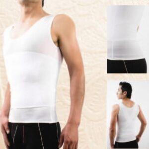 Camiseta de Control Con Imanes Soporte en Espalda 3002