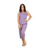 pijama-algodon-dama-sin-manga-y-capri-3260-lazy-lola