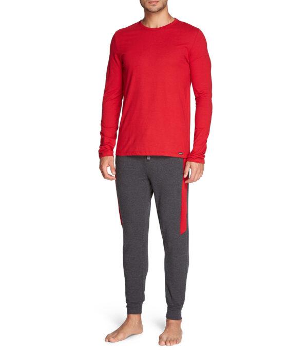 pijama-hombre-72904-skiny-manga-larga-y-pantalon-algodon
