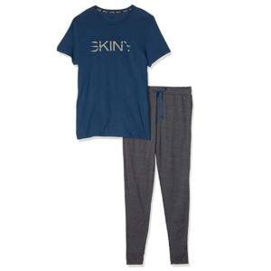 pijama-manga-corta-y-pantalon-algodon-hombre-72915-skiny
